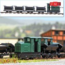 Busch 8070 Gazdasági vasút (GV) szerelvény készlet vágányokkal (N) - Nem működőképes!