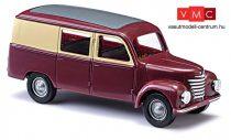 Busch 8662 Framo V901/2 utasteres dobozos furgon - borvörös/csontszín (TT)