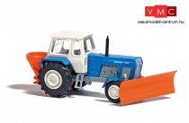 Busch 8699 Fortschritt ZT 300 traktor, hótolólappal és útszóró adapterrel (TT)