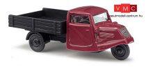 Busch 89103 Tempo háromkerekű teherautó - bordó (H0)