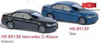 Busch 89138 Mercedes-Benz C-Klasse, fekete (H0)
