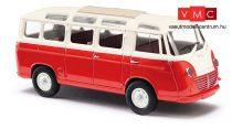 Busch 94150 Goliath Express 1100 Luxusbus, piros/krém (H0)