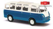 Busch 94151 Goliath Express 1100 Luxusbus, kék/krém (H0)