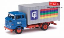 Busch 95136 IFA W50 L MK dobozos teherautó, Lacufa (H0)