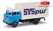 Busch 95141 IFA W50 L MK dobozos teherautó, SYSpur (H0)