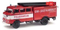 Busch 95170 IFA W 50 LF16 tűzoltó, GW Gefahrgut (H0)
