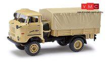 Busch 95215 IFA W50 LA/A ponyvás teherautó - Egyiptom (H0)