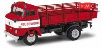 Busch 95232 IFA W50 LA PV platós tűzoltó - Feuerwehr Berlin (H0)