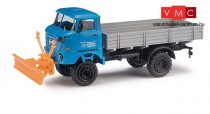 Busch 95237 IFA W 50 PV platós teherautó, hótolóval - BBG Eberswalde (H0)