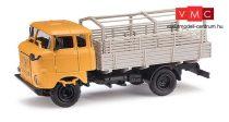 Busch 95241 IFA W 50 Sp/PV platós teherautó ponyvatartó kerettel - Export (H0)