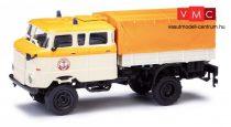 Busch 95245 IFA W50 TLF duplafülkés/platós teherautó (H0)