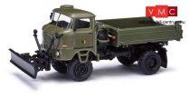 Busch 95248 IFA W50 3SK katonai billencs tolólappal - Grenztruppen (H0)