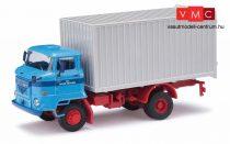 Busch 95518 IFA L60 ETK dobozos teherautó, LPG Roter Oktober (H0)