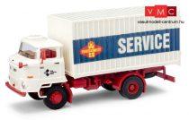 Busch 95531 IFA L60 dobozos teherautó, Fortschritt Landmaschinen Service (H0)