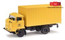 Busch 95535 IFA L60 ETK dobozos teherautó, Deutsche Post (H0)
