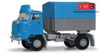 Busch 95537 IFA L60 ponyvás-platós vontató (H0)