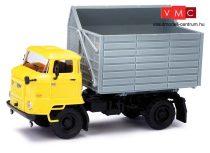 Busch 95538 IFA L60 SHA mezőgazdasági teherautó, sárga fülkével (H0)