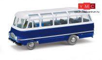 Busch 95701 Robur LO 2500 autóbusz, kék (H0)
