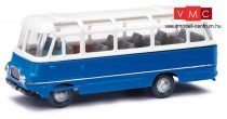 Busch 95714 Robur LO 2500 autóbusz,  kék/fehér (H0)