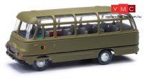 Busch 95715 Robur LO 2500 katonai autóbusz, NVA (H0)