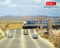 Busch 9710 Útburkolat: országút, aszfaltozott, felezővonallal (H0)