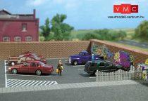 Busch 9713 Útburkolat: parkolóhelyek (H0)