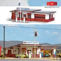 Busch 9723 Amerikai vidéki benzinkút az 50-es évekből (H0)