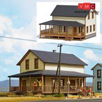 Busch 9727 Amerikai vidéki lakóház, valódi fából - LC (H0)
