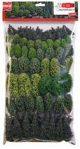 Busch 9764 Vegyes erdő, lombos és fenyőfa, 70 db - 40-105 mm (H0)