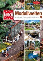 Busch 999814 Busch Modellbahwelten 4 - Wildpark, Wasser & Industrie ötletfüzet