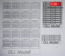 DLL10000 MÁV kerítés H0 20db-os