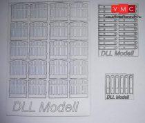 DLL20000 MÁV kerítés TT 20db/csomag