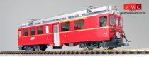 ESU 30137 E-Lok, Pullman IIm, RhB-Triebwagen ABe 4/4 II, Nr. 44, silberner Zierstreifen unten, Epoche V