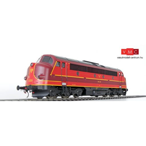 ESU 30223 Dízelmozdony MY 1155 Nohab, piros/barna, Altmark Rail (E6) (1) - Sound és füst