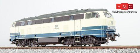 ESU 31019 Dízelmozdony, H0, BR 215, 215 068, ozeanblau-beige, EP IV, Vorbildzustand um 1984, LokSound, Raucherzeuger, Voith Lüfter, DC/AC