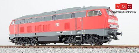 ESU 31029 Dízelmozdony, H0, BR 215, 215 049, verkehrsrot, EP V, Vorbildzustand um 2001, LokSound, Raucherzeuger, Abgashutzen, DC/AC