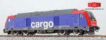ESU 31099 Dízelmozdony, H0, BR 245, 245 502, SBB Cargo, rot-blau, Ep. VI, Vorbildzustand um 2016, LokSound, Raucherzeuger, DC/AC