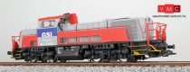 ESU 31152 Diesellok, H0, GSI 261-308, fenstergrau, EP VI, Vorbildzustand um 2013, LokSound, Raucherzeuger, DC/AC