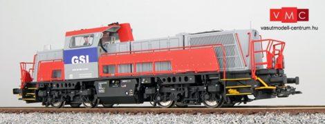 ESU 31152 Dízelmozdony, H0, GSI 261-308, fenstergrau, EP VI, Vorbildzustand um 2013, LokSound, Raucherzeuger, DC/AC