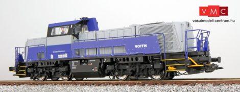 ESU 31158 Dízelmozdony, H0, BR 261, 261 304, Voith, Ep VI, grau, Vorbildzustand um 2010, LokSound, Raucherzeuger, Rangierkupplung, DC/AC