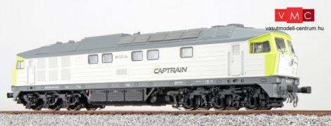 ESU 31164 Dízelmozdony, H0, BR 132, BR 232-04, Captrain Ep VI, grau-hellgrün, Vorbildzustand um 2016 LokSound, Raucherzeuger, DC/AC