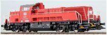 ESU 31252 Dízelmozdony, H0, BR 265 004, DB, rot, Ep. VI, Vorbildzustand um 2015, LokSound, Raucherzeuger, DC/AC