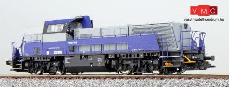 ESU 31253 Dízelmozdony, H0, BR 265 500, Voith, grau, Ep. VI, Vorbildzustand um 2012, LokSound, Raucherzeuger, DC/AC