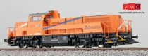 ESU 31254 Dízelmozdony, H0, BR 265 302, Northrail/Delta Rail, orange, Ep. VI, Vorbildzustand um 2014, LokSound, Raucherzeuger, DC/AC