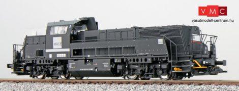 ESU 31256 Dízelmozdony, H0, BR 265, 265 310, MRCE, schwarz Ep VI, Vorbildzustand um 2015, Sound + Rauch, DC/AC