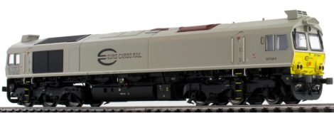 ESU 31270 Dízelmozdony, H0, C77 ECR BR247 046, Ep VI, Vorbildzustand um 2011, Hellgrau, Sound+Rauch, DC/AC