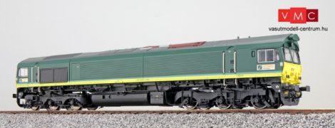 ESU 31272 Dízelmozdony, H0, C66 Ascendos PB 15, Ep VI, Vorbildzustand um 2012, Grün, Sound+Rauch, DC/AC