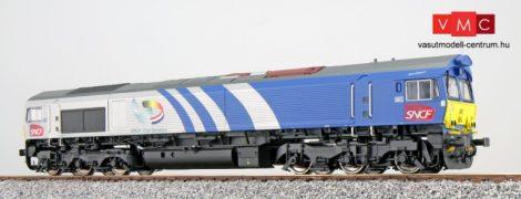 ESU 31275 Dízelmozdony, H0, C66 Fret 6603, Ep VI, Vorbildzustand um 2009, Grau-Blau, Sound+Rauch, DC/AC