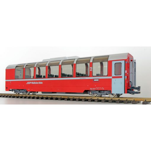 ESU 36354 Panoramawagen BEX, Pullman IIm, RhB Bp 2522, rot, Ep VI