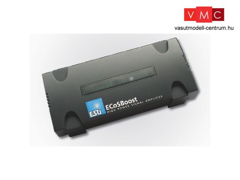 b08d2616fd ESU 50010 ECoSBoost Booster, 4A, MM/DCC/SX/mfx, német & angol ...